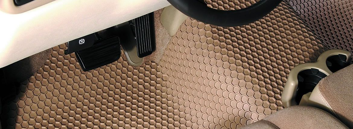 ALL-WEATHER MATS SPILLS DON'T HAVE A CHANCE!